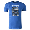 Frank Lampard Collage Men's Fashion T-Shirt (Royal)