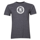 Chelsea Distressed Emblem Men's Fashion T-Shirt (Dark Gray)