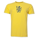 Chelsea Distressed Lion Men's Fashion T-Shirt (Yellow)