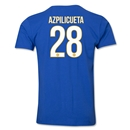 Chelsea Azpilicueta Player T-Shirt (Royal)