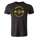 Charleston Battery Property of CB Men's Fashion T-Shirt (Black)