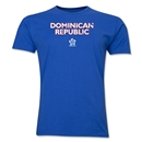 Dominican Republic CONCACAF Distressed Men's Fashion T-Shirt (Royal)