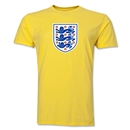 England Core Men's Fashion T-Shirt (Yellow)