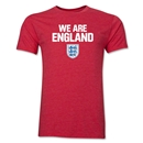 England We Are Men's Fashion T-Shirt (Heather Red)