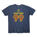 FC Barcelona Eighteen 99 Men's Fashion T-Shirt (Navy)