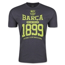 FC Barcelona Barca 1899 Men's Fashion T-Shirt (Dark Gray)