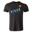 Barcelona Pique Men's Fashion T-Shirt (Black)