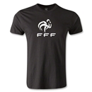 France FFF Men's Fashion T-Shirt (Black)
