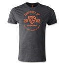 Jaguares de Chiapas Property Men's Fashion T-Shirt (Dark Gray)