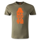 Jaguares de Chiapas Graphic Men's Fashion T-Shirt (Olive)