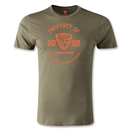 Jaguares de Chiapas Property Men's Fashion T-Shirt (Olive)