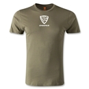 Jaguares de Chiapas Men's Fashion T-Shirt (Olive)