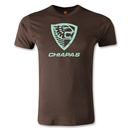 Jaguares de Chiapas Distressed Men's Fashion T-Shirt (Brown)