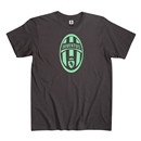 Juventus Logo Men's Fashion T-Shirt (Black)