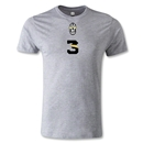 Juventus #3 T-Shirt (Gray)