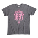 Juventus 1897 Men's Fashion T-Shirt (Dark Gray)