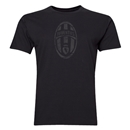 Juventus Distressed Logo Men's Fashion T-Shirt (Black)