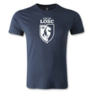 LOSC Lille Distressed Graphic Men's Fashion T-Shirt (Navy)