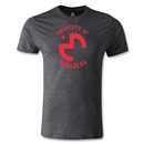 Morelia Monarcas Distressed Property Men's Fashion T-Shirt (Dark Gray)