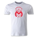 Morelia Monarcas Distressed Logo Men's Fashion T-Shirt (White)