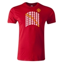 Manchester United Scholes Men's Fashion T-Shirt (Red)
