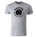 Newcastle United Magpie Pride Men's Fashion T-Shirt (Gray)