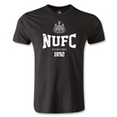 Newcastle United Established Men's Fashion T-Shirt (Black)