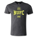 Newcastle United Established Men's Fashion T-Shirt (Dark Gray)