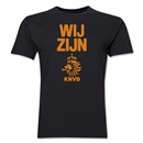 Netherlands We Are Men's Fashion T-Shirt (Black)