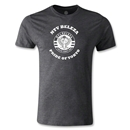NTV Beleza Distressed Pride of Tokyo Men's Fashion T-Shirt (Dark Gray)