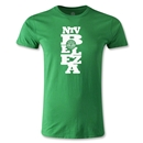 NTV Beleza Graphic Men's Fashion T-Shirt (Green)