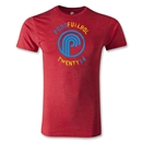 Puro Futebol Distressed Twenty 14 Men's Fashion T-Shirt (Red)