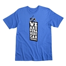 We Are Sudamerican Rockers Men's Fashion T-Shirt (Royal)