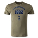 Tottenham Established Men's Fashion T-Shirt (Olive)