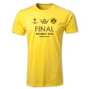 UEFA Champions League 2013 Borussia Dortmund Final T-Shirt (Yellow)