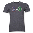 USA '2-0' Men's Fashion T-Shirt (Dark Gray)