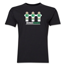 Werder Bremen Foosball Men's Fashion T-Shirt (Black)