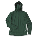 Nike LS Women's Training Hoody (Dark Green)