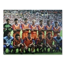 Icons Pep Guardiola Signed Barcelona Dream Team Photo