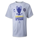 Chelsea 2012 UCL Champions Youth T-Shirt (White)