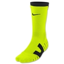 Nike Vapor Crew Sock Large (Neon Yellow)