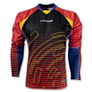 Rinat Circuit Long Sleeve Goalkeeper Jersey (Blk/Orange)