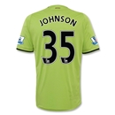 Aston Villa 12/13 JOHNSON Away Soccer Jersey