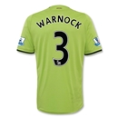 Aston Villa 12/13 WARNOCK Away Soccer Jersey