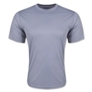 Moisture Wicking Poly T-Shirt (Gray)
