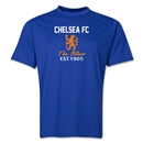 Chelsea Crest Training T-Shirt (Royal)