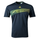 adidas Youth F50 Poly T-Shirt (Dk Grey)