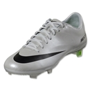 Nike Mercurial Vapor IX FG (Metallic Platinum/Electric Green)