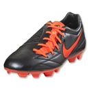 Nike T90 Shoot IV FG (Black/Total Crimson)