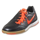 Nike T90 Shoot IV IC (Black/Total Crimson)